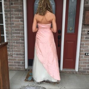 BEAUTIFUL blush prom dress!